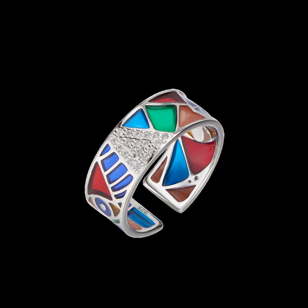 Orange Enement Ring | Picasso Element Ring Mawjod